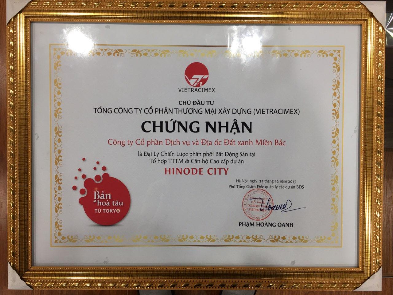 chung-nhan-phan-phoi-hinode-city-201-minh-khai