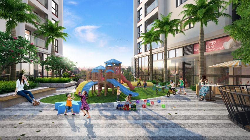 Sân chơi trẻ em dự án 378 Minh Khai GreenPearl