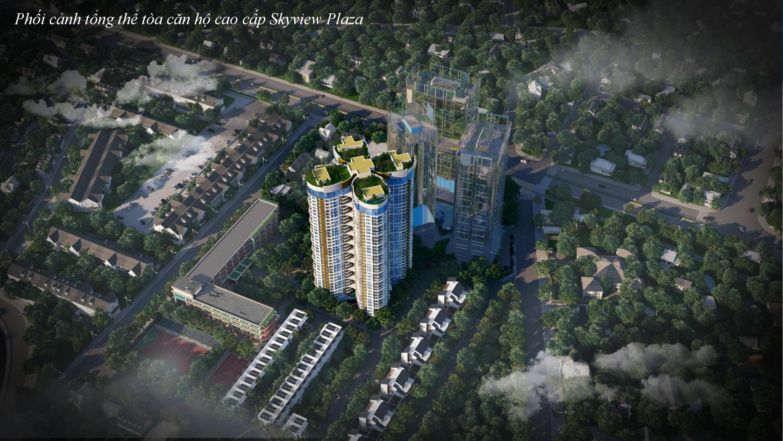 phoi canh tong the du an skyview plaza 360 giai phong
