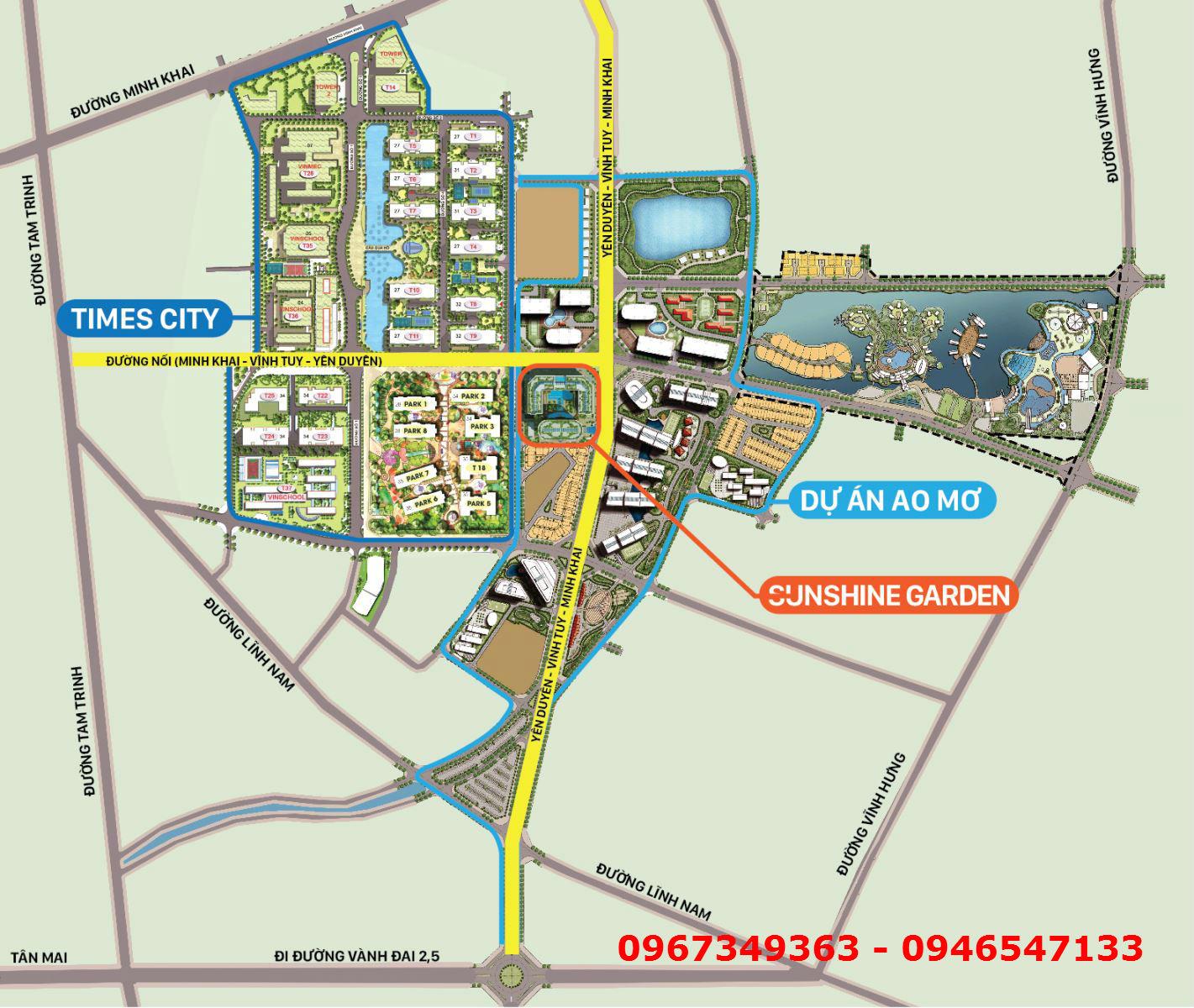 Quy hoạch Vĩnh Tuy - Yên Duyên - Minh Khai