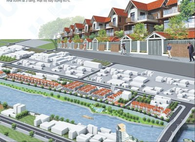Dự án khu đô thị Tài Tâm Riverside