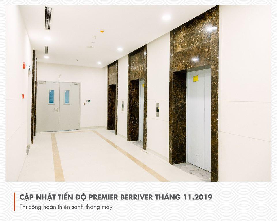 Tiến độ xây dựng berriver Thang 11 2019