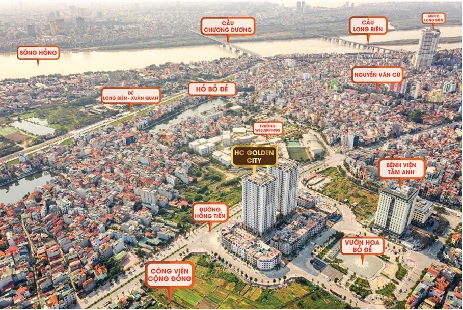 Tổng quan dự án HC Golden City Bồ Đề