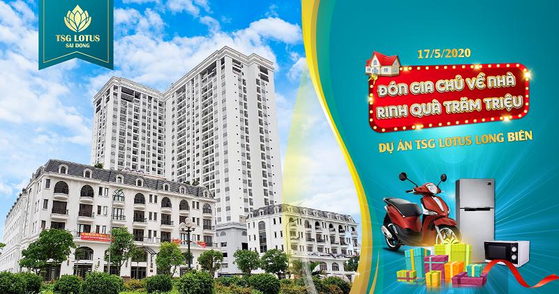 Mở bán dự án TSG Lotus Long Biên