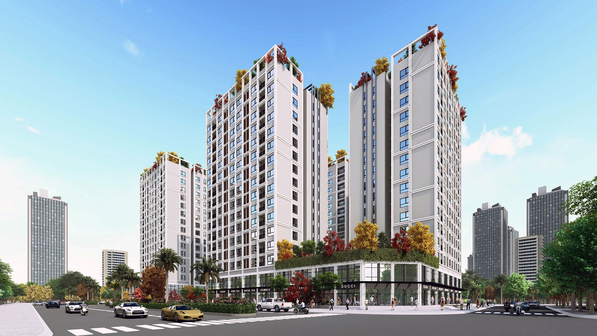 Dự án Eco City Smart Cổ Linh Long Biên