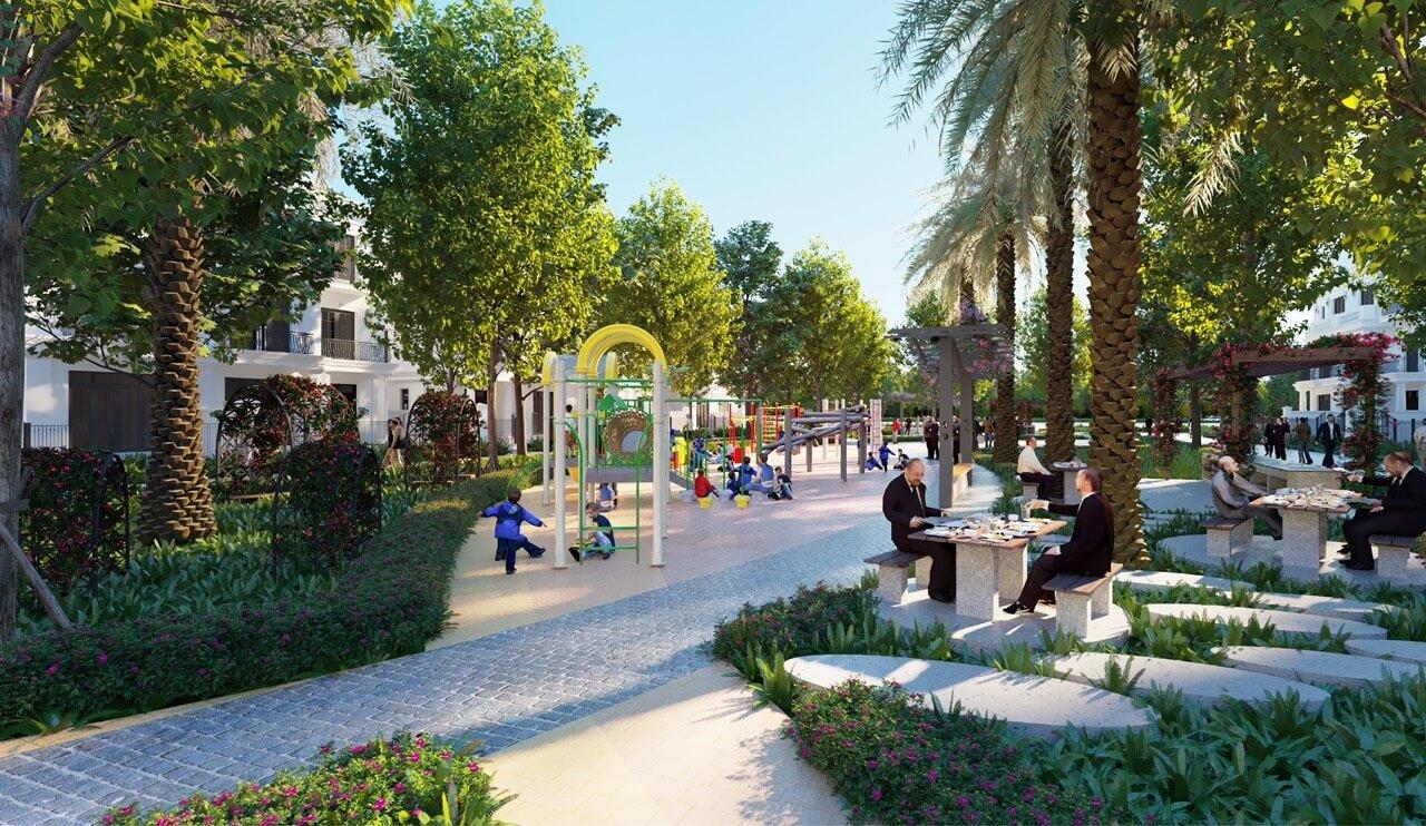 Tiện ích dự án Eco Smart City Cổ Linh