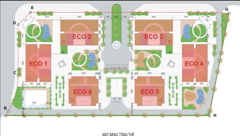 Căn hộ mẫu Eco Smart Cổ Linh Long Biên
